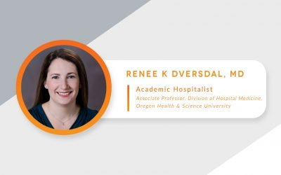 Meet Our Faculty: Dr. Renee Dversdal, Academic Hospitalist