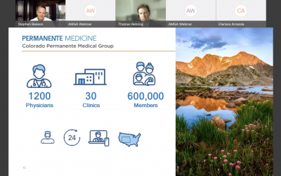 Virtual Roundtable – Recorded: How Colorado Permanente Medical Group Coached 1,200 Physicians (Hosted by AMGA)